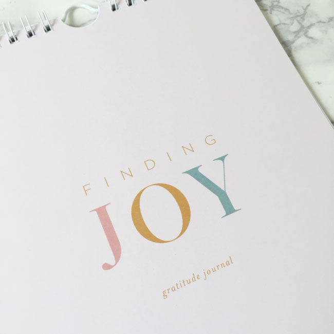 Finding Joy Gratitude Journal