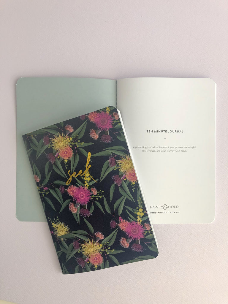 10 Minute Journal ~ Seek ~ 3 PACK