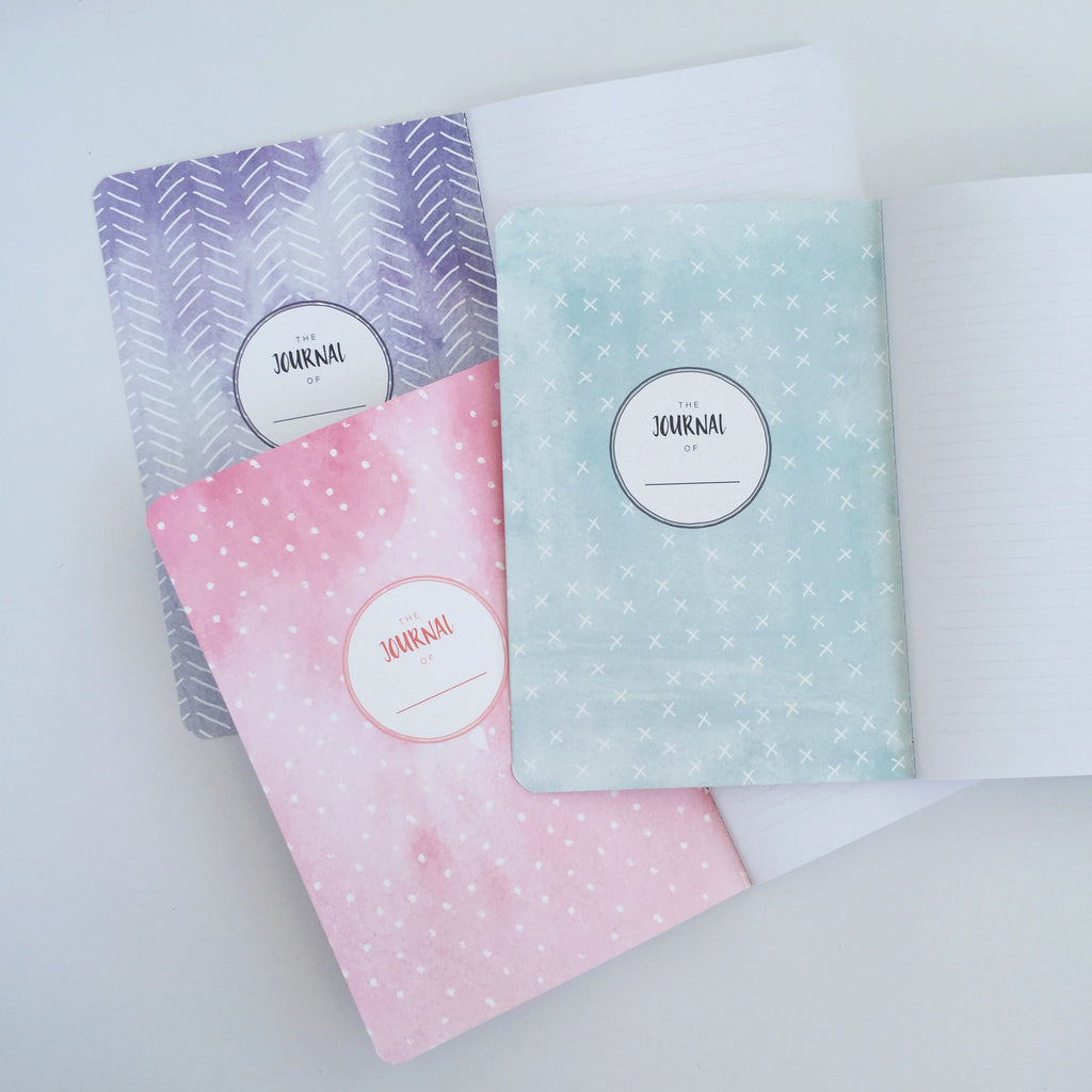 10 minute Journals - 3 Pack