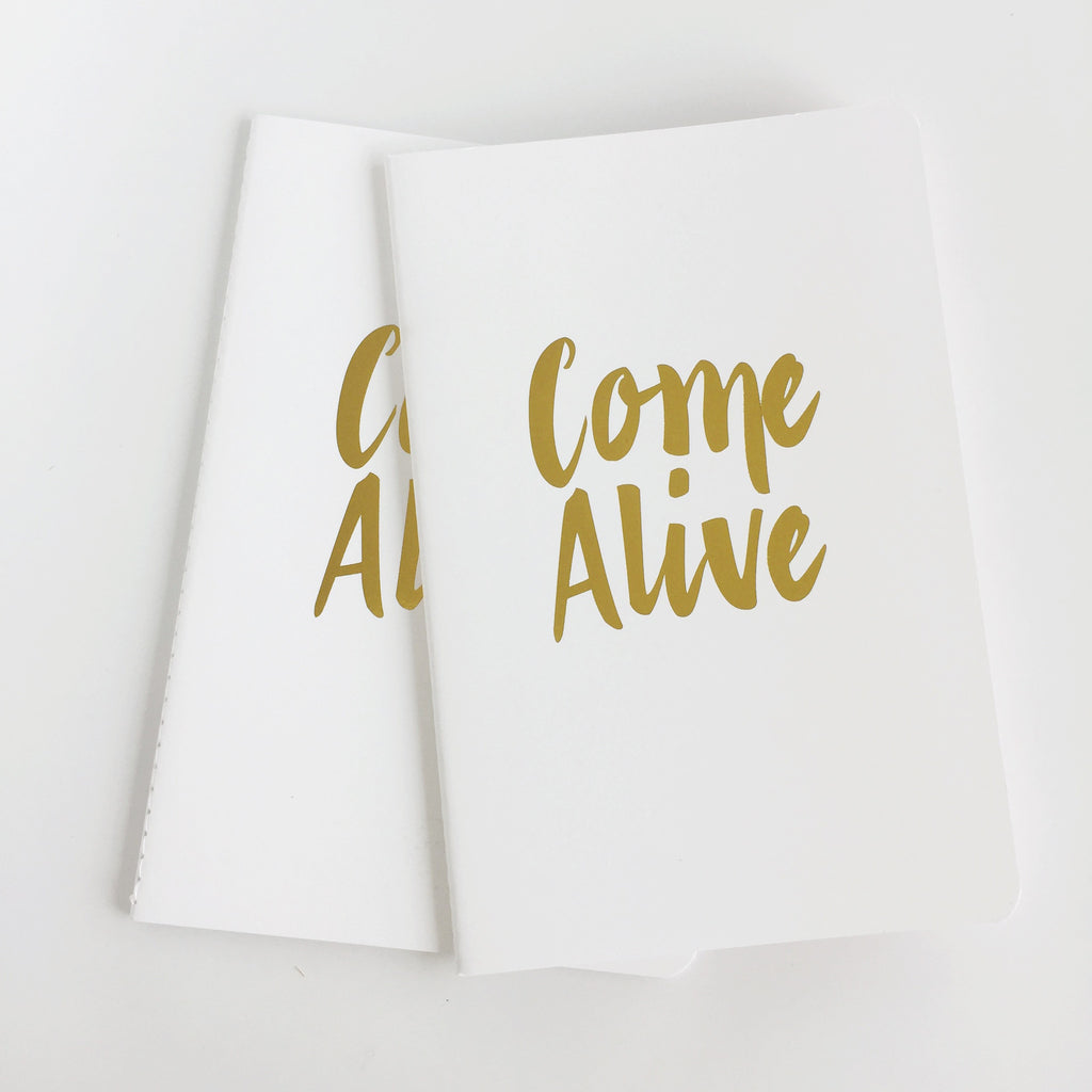 'Come Alive' 10 Minute Journal A5