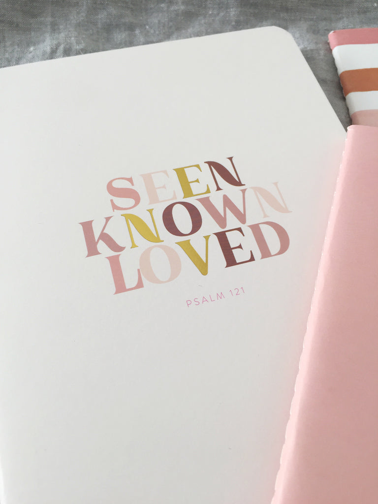 10 Minute Journal A5 ~ Seen Known Loved