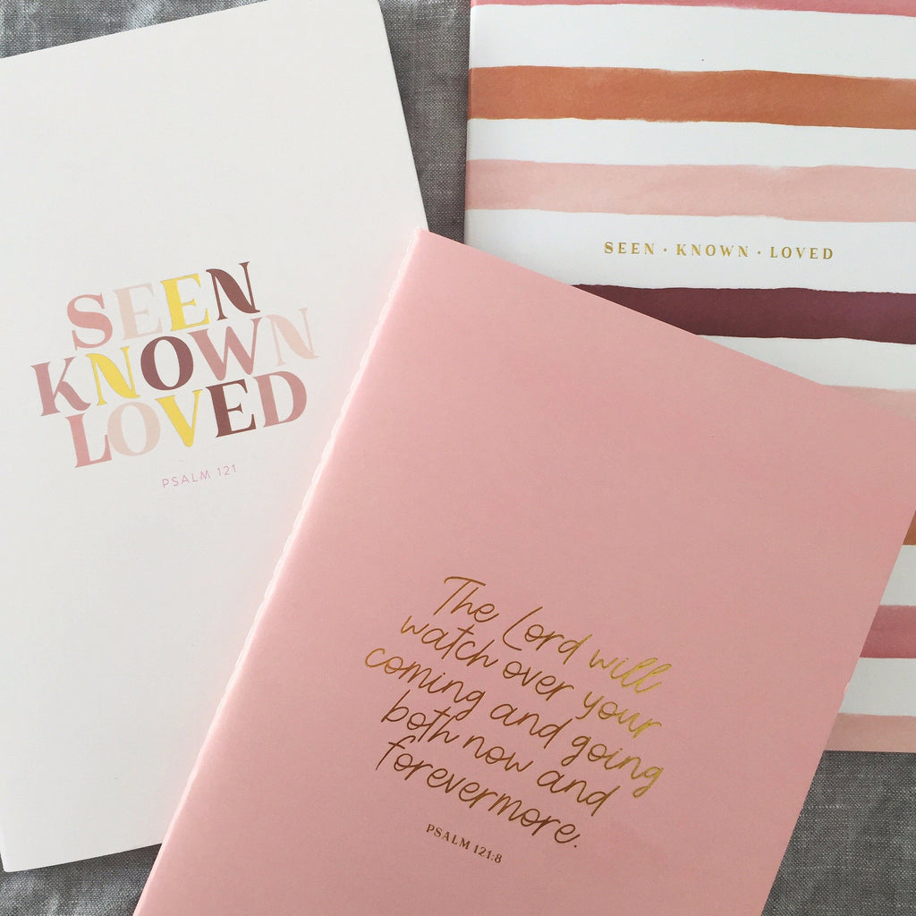10 Minute Journal ~ Seen Known Loved ~ 3 PACK