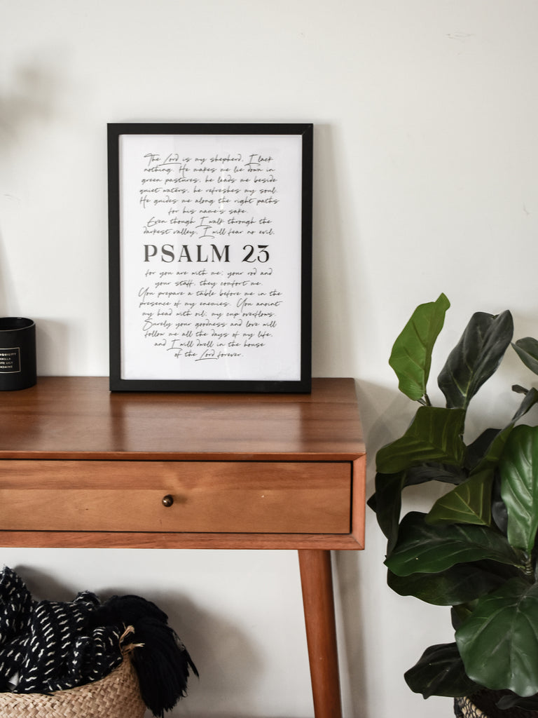 Psalm 23 ~ Wall Art