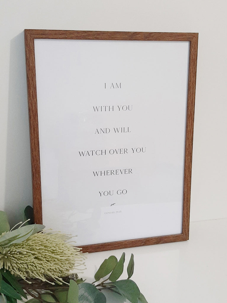 I am With You ~ Wall Print