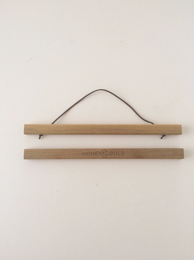 Oak Wooden Art Hanger