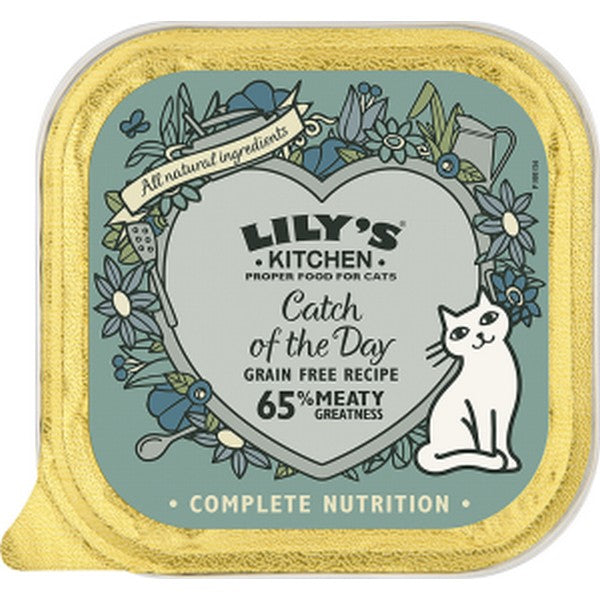 Lilys Kitchen Catch of Day Fish Cat 85g
