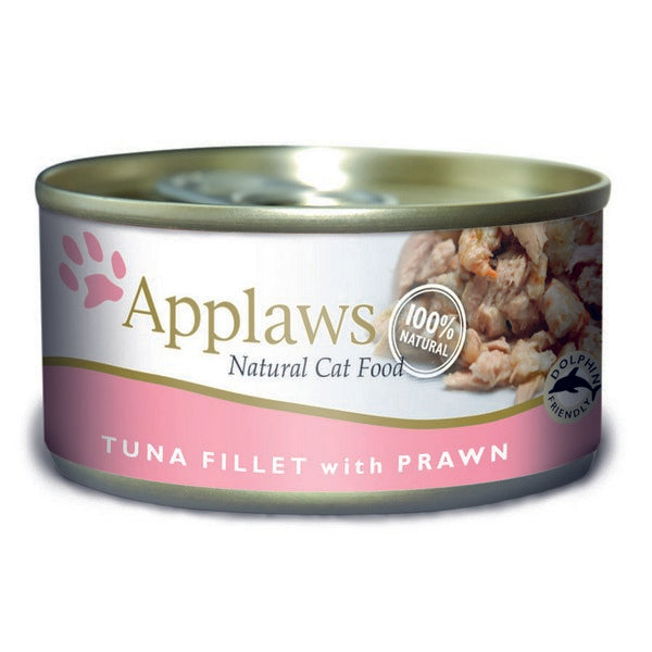 Applaws Cat Can Tuna Fillet & Prawn 156g