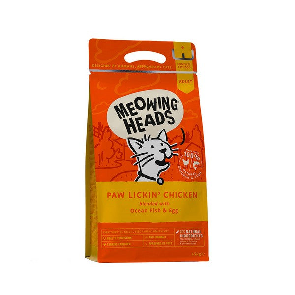 Meowing Heads Paw Lickin Chicken 1.5kg