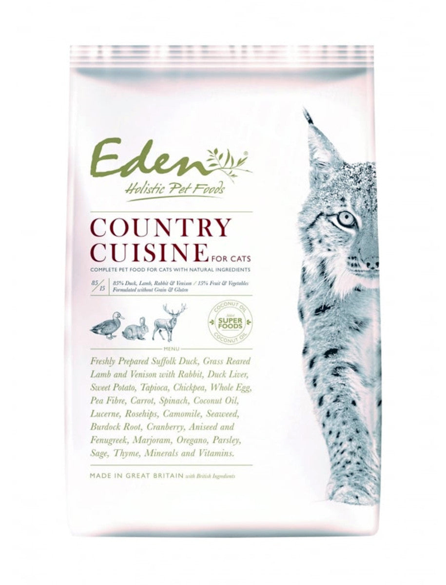Eden Country Cuisine 4kg Cat