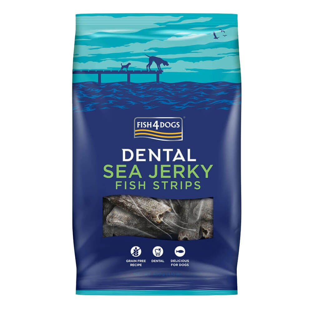 Fish4Dogs Dental Sea Jerky Fish Strips