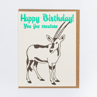 Antelope Birthday