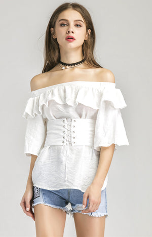 Penny Corset Belt Top