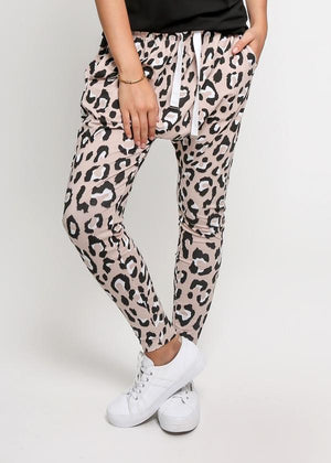 Kitty Droppies in Pink Leopard