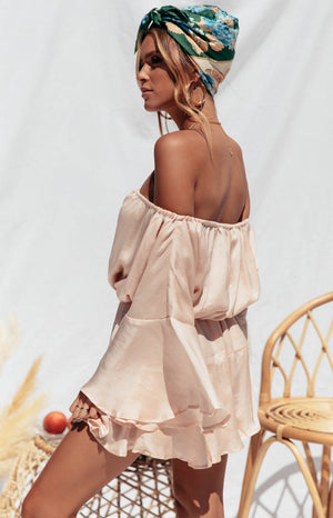 Roam Playsuit in Blush