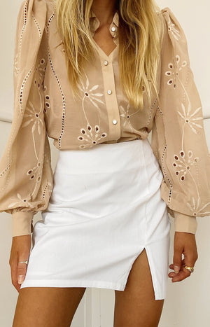 Knowles Blouse in Sand