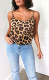 Naomi Long Cami in Leopard