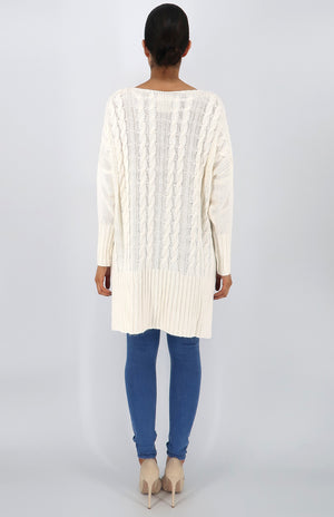 Faith Sweater in Off White
