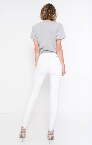 Antonia Skinny High Rise Jeans in White