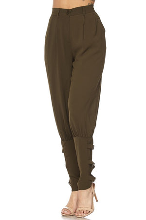 Empire Pants in Khaki