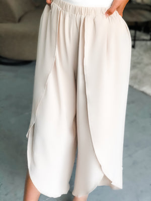 Softly Spoken Pants in Beige