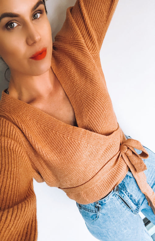 Golden Age Wrap Knit