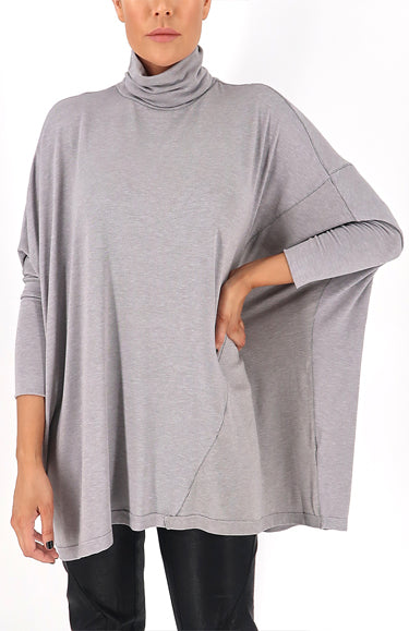 Khloe Top in Grey