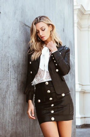 No Excuses Blazer in Black