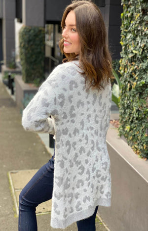 Cold Blooded Leopard Cardi