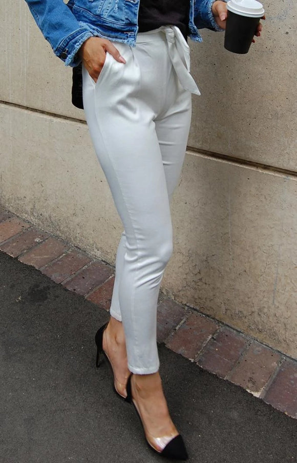 Zepplin Pant in Off White