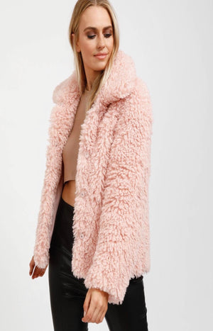 Here We Go Again Jacket in Pink - PREORDER