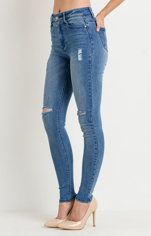 Aiden High Waist Skinny Jeans