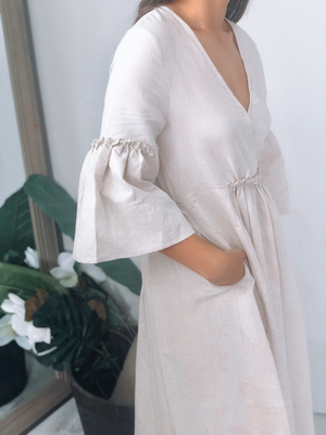 Prairie Linen Blend Dress