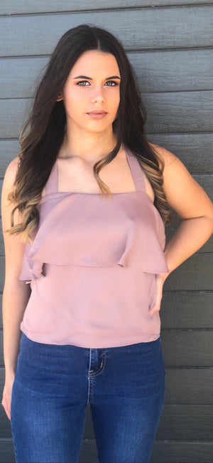 Days Like This Cami in Mauve