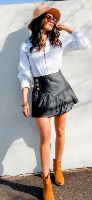 Fit And Flair Skirt
