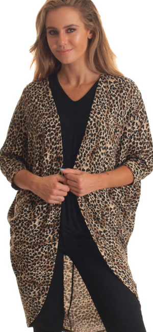Roar Leopard Shrug