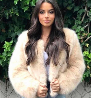 Lillyana Faux Fur Coat