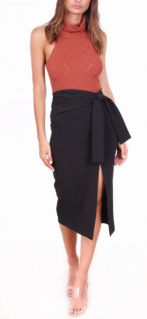 Claudia Split Skirt