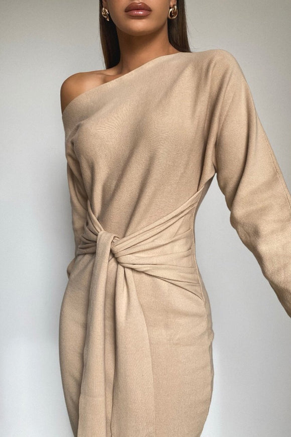 Indra Dress in Sand