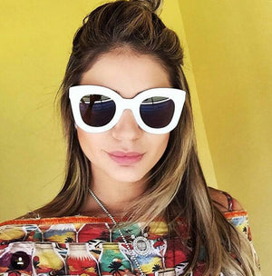 Kat Sunglasses in White