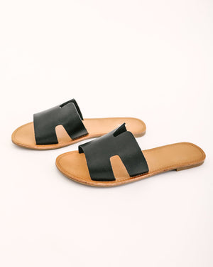 Savannah Slides in Black