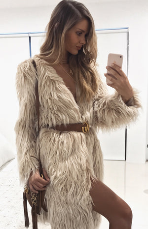 Sicily Faux Fur Coat