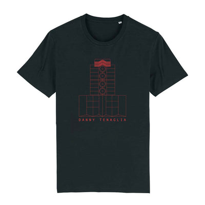 Danny Tenaglia 60th Birthday Virtual Festival Red Men's Organic T-Shirt-Danny Tenaglia Store