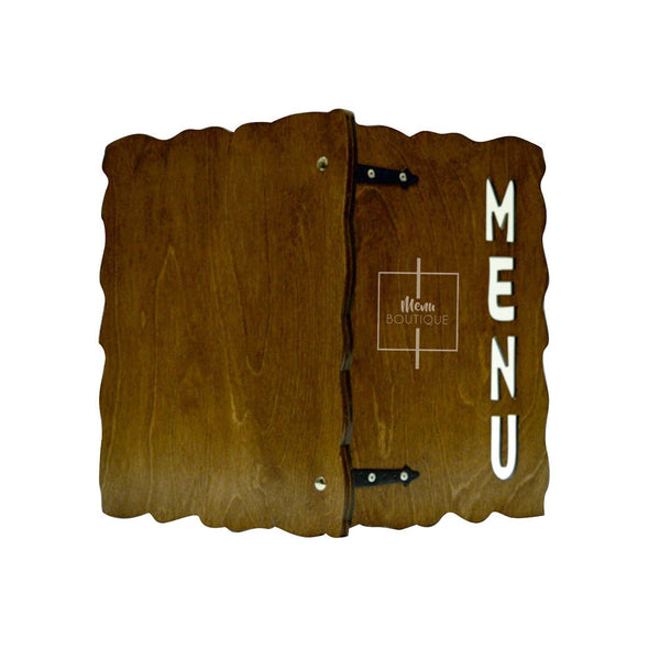 Menu Parchemin - Menu Boutique