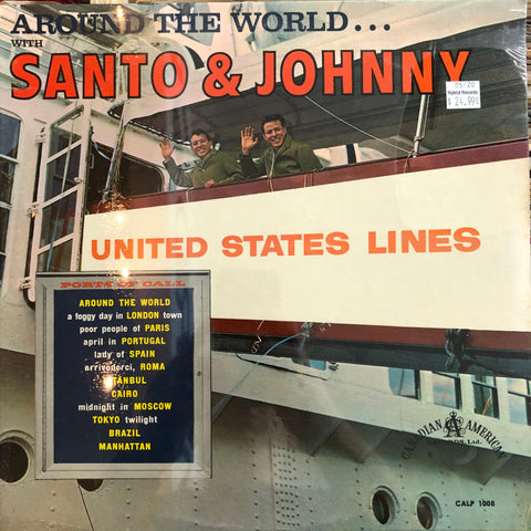 "Santo & Johnny ""Around The World with..."""