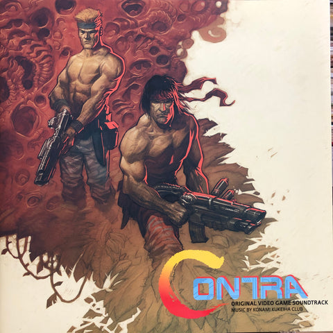 Contra (Original Video Game Soundtrack, Colored Vinyl)