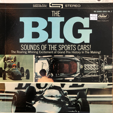 Big Sounds Of The Sports Cars!