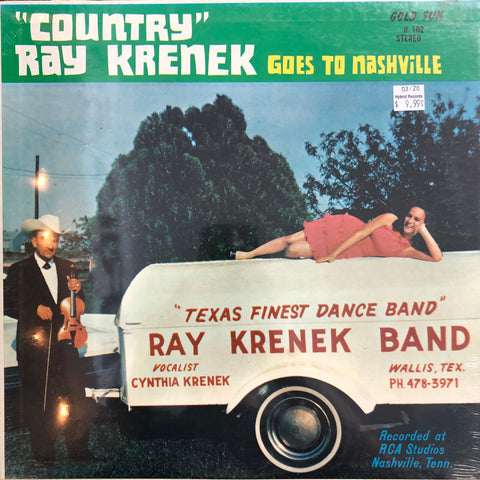 "Krenek, ""Country"" Ray ""Goes To Nashville"""