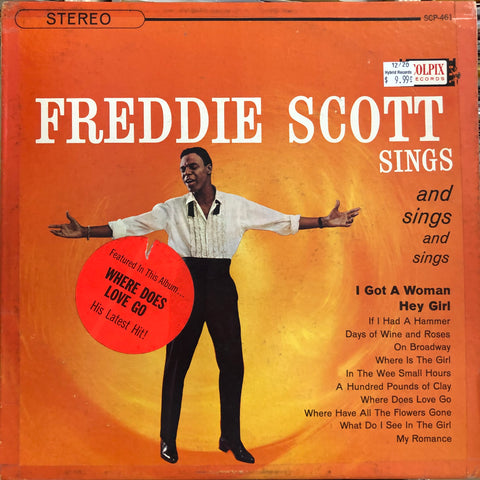 "Scott, Freddie ""Sings and sings"""