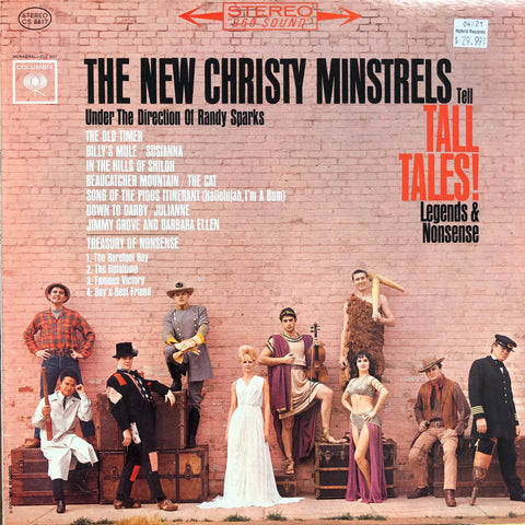 "New Christy Minstrels ""Tell Tall Tales (Promo, Colored Vinyl)"""