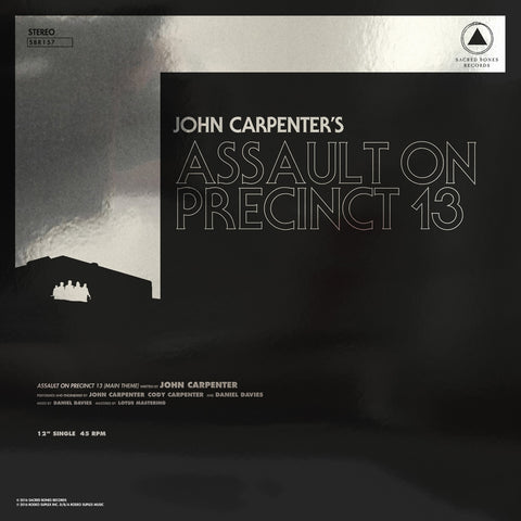 "Carpenter, John ""Assault On Precinct 13 / The Fog"""